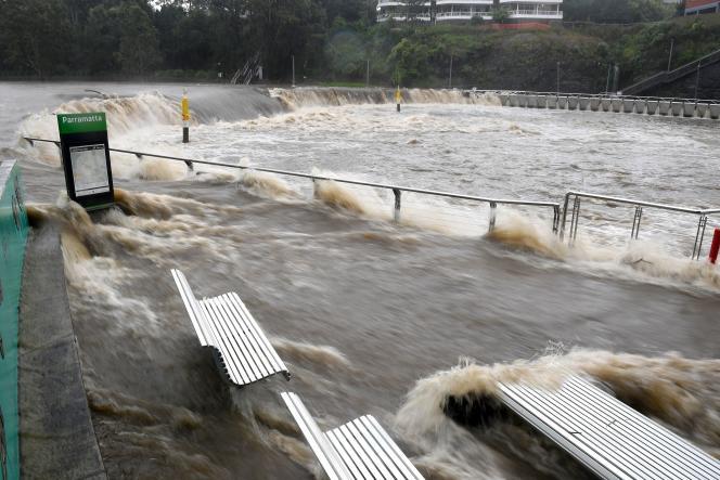 Paramatman River in Sydney, Australia on March 20.