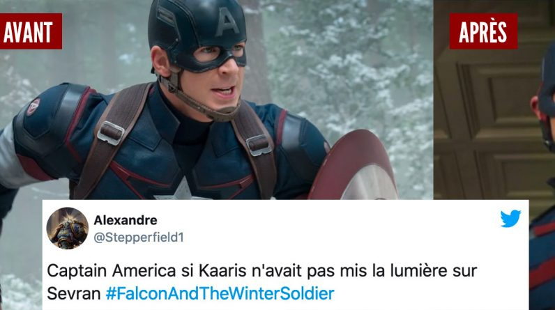 Internet users shocked by Captain America in the 1st episode of The Balkans and Winter Soldier