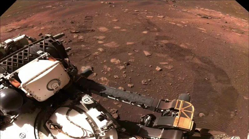 NASA's Mars robot makes its first ride - NRK Urix - Overseas News and Documentaries