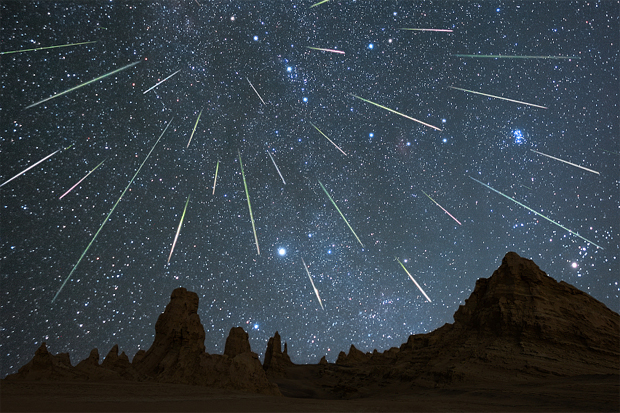 Next week there are peaks of meteor showers and other events in the sky