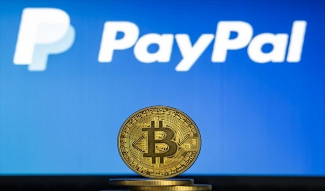 PayPal now accepts cryptocurrency payments