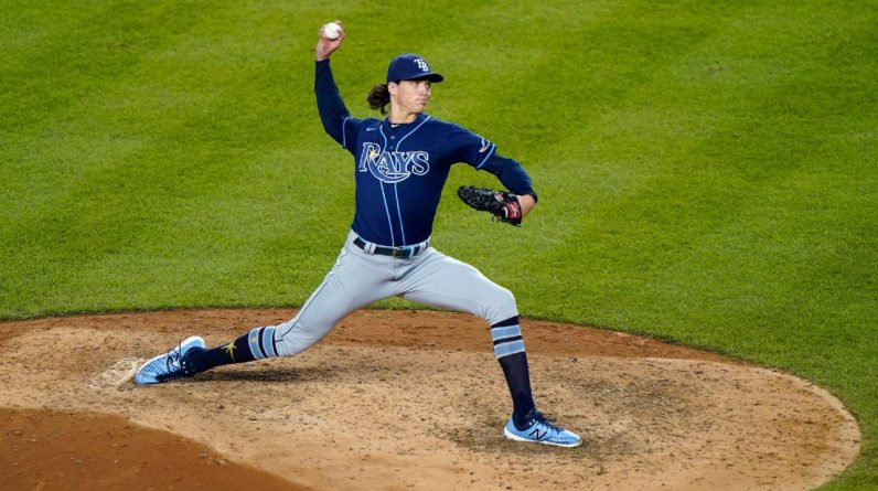 Rotation of players with rays in 2021