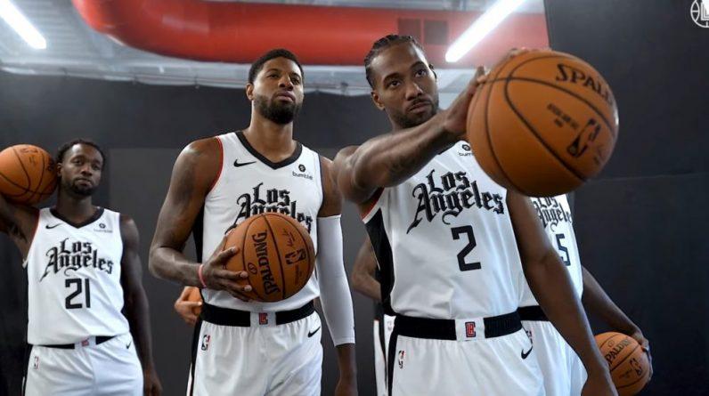 Kawhi Leonard Paul George Patrick Beverley Los Angeles Clippers