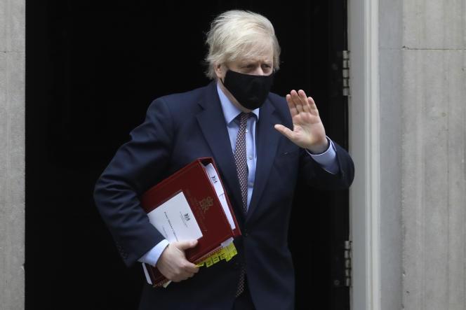 British Prime Minister Boris Johnson in London on March 3.