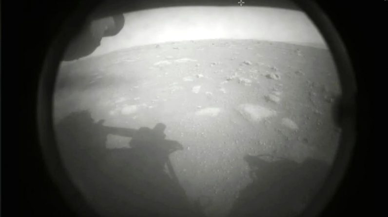 The endurance ride of Mars gets the first driving sounds on the Red Planet