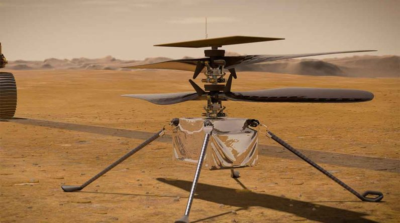 The first flight of a small helicopter to Mars.  Conducted by NASA after the April 8-AV Watch