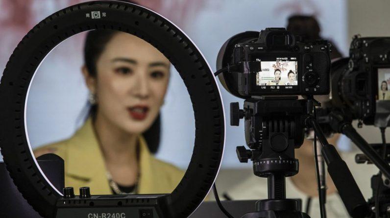 L'influenceuse Huang Wei, connue sous le nom de «Viya».