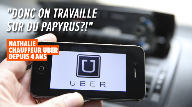 Uber: Drivers can no longer use their smartphone in Brussels