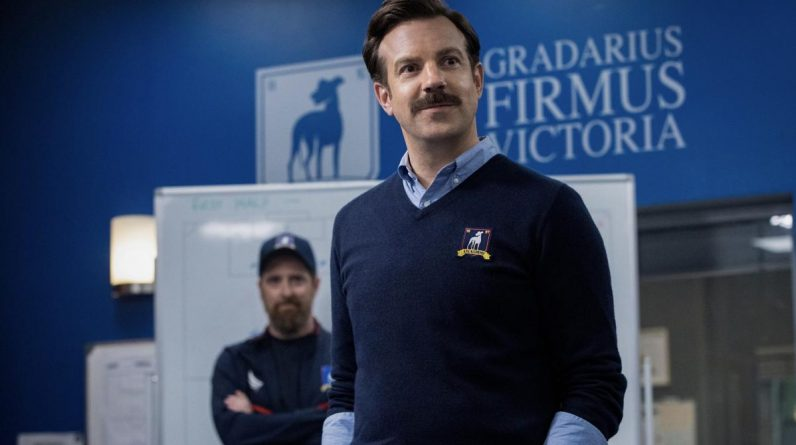 When Ted Lasso or an American football coach: Trailer