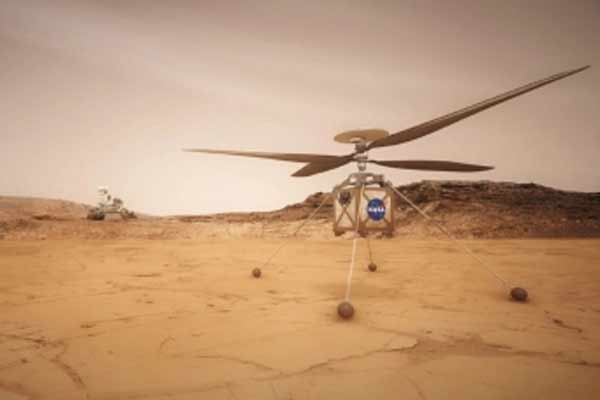 NASA Mars Helicopter Launch Delay, Flight To Fill On April 11 - World News in Hindi