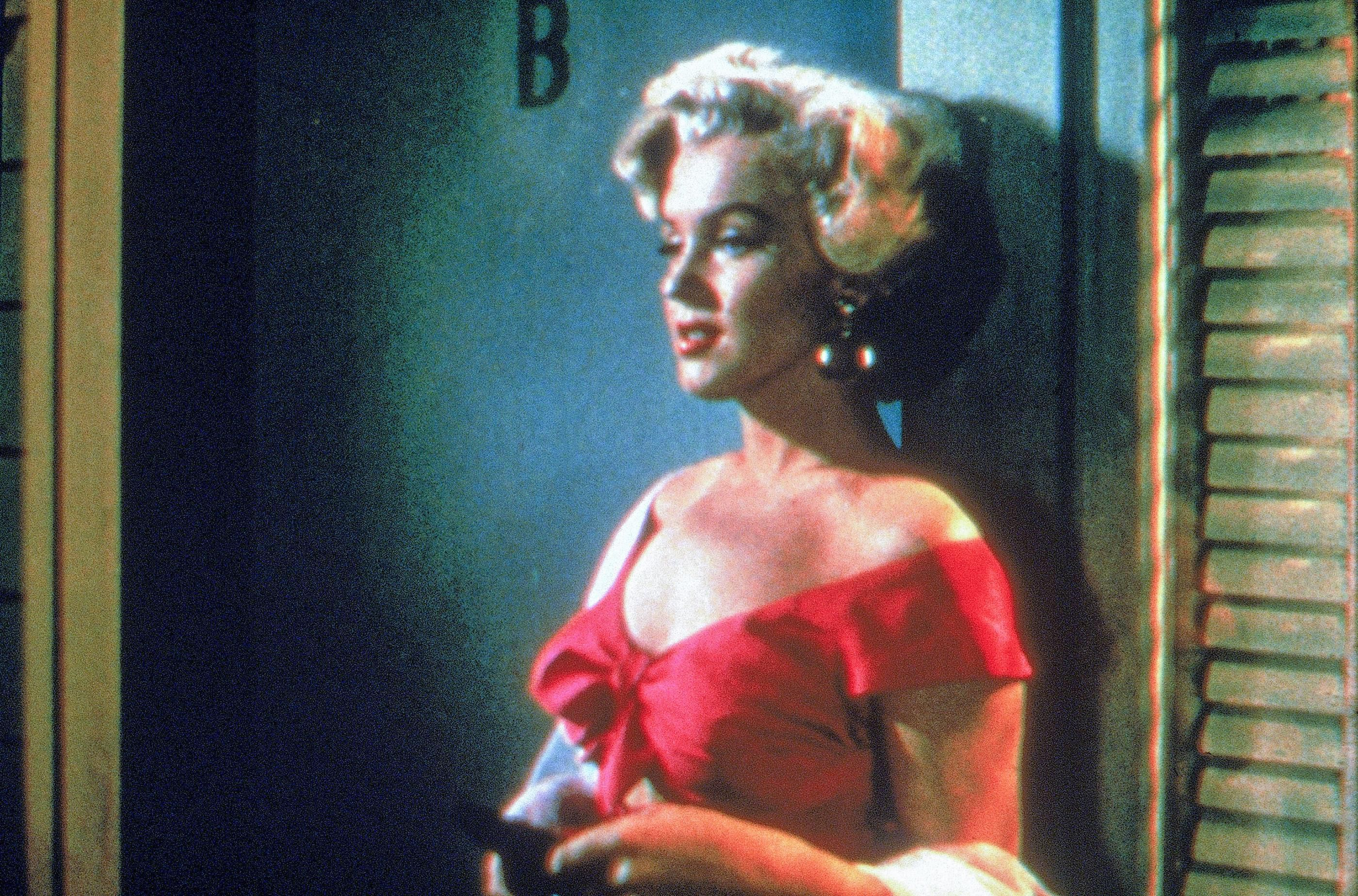 Marilyn plays a curious woman named Monroe Rose, who gets caught in her own web.