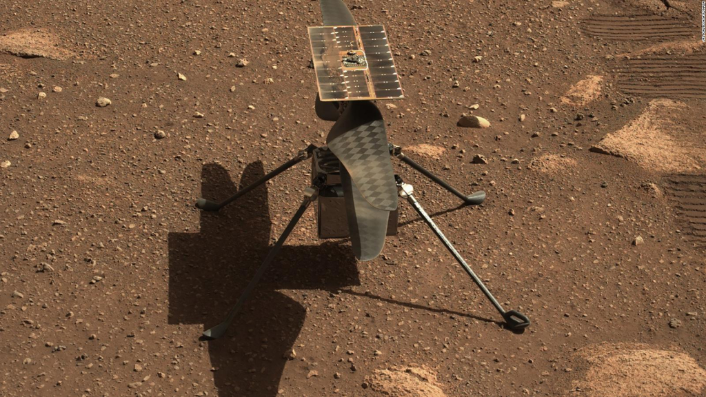 The impetus for ingenuity is moving to Mars