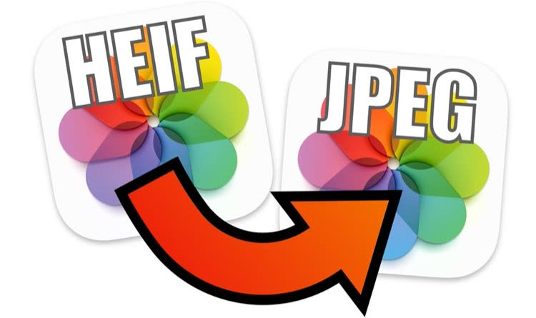 From HEIF to JPEG with a single right click