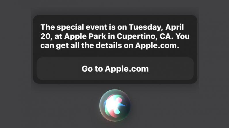 Обновлено: Весенняя презентация Apple пройдет 20 апреля