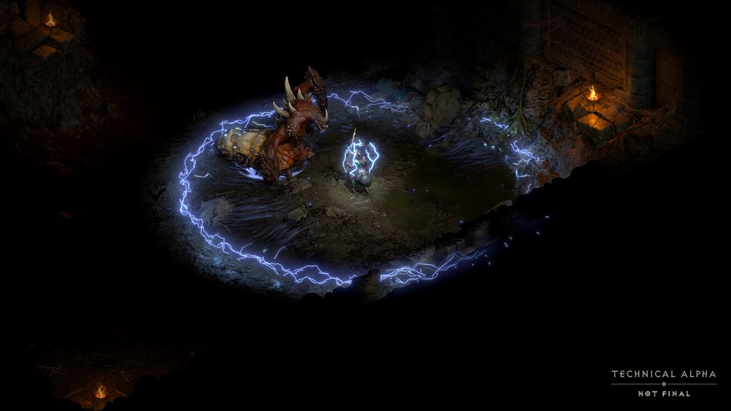 Diablo Dio's feature is the use of a controller to play with. Image: Blizzard Entertainment