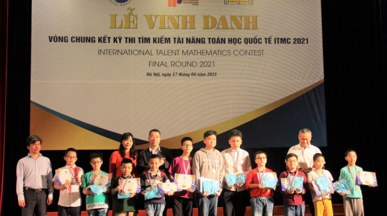 Vietnam wins 16 gold medals in international math talent search