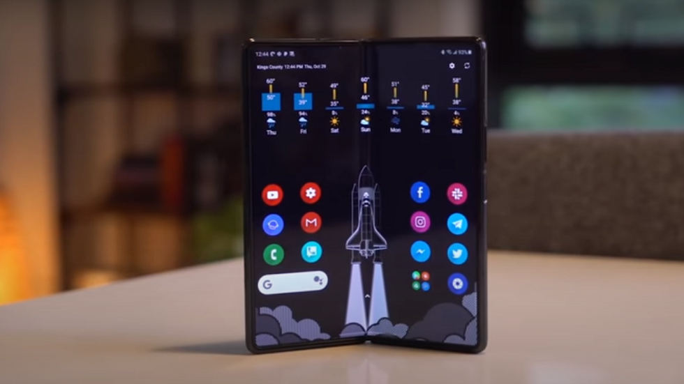 The leaks reveal the most important features of the upcoming Samsung foldable phone