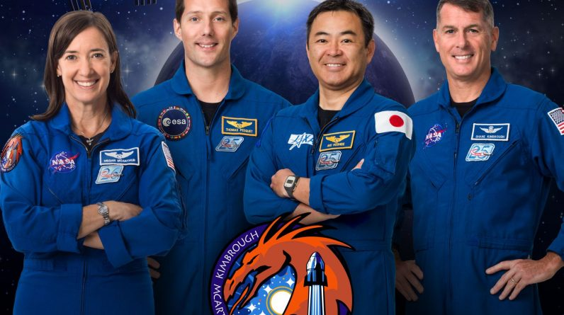 Group-2 |  Who are the astronauts going to ISS with SpaceX this week?