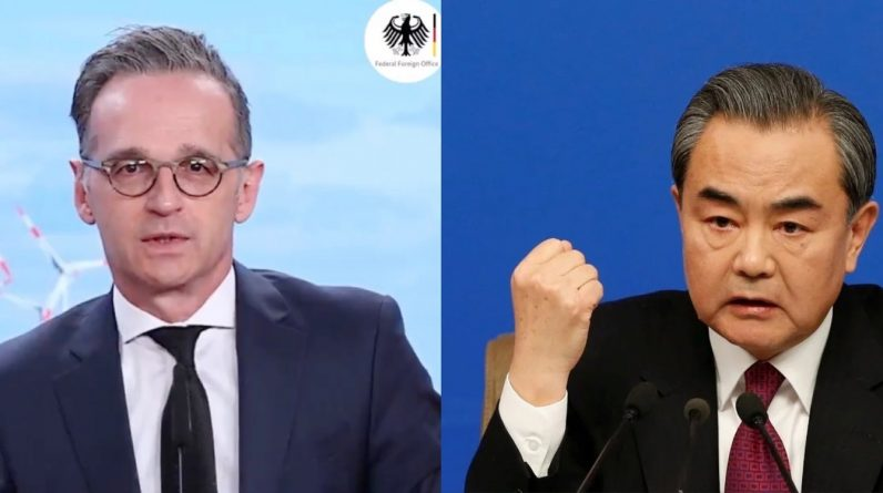 German Foreign Ministers Video Conference German Foreign Ministers: Wrong approach to sever EU from China |  International |头壳 Newtalk