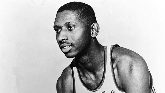 On April 25, 1950, the first three black basketball players arrived at the NBA