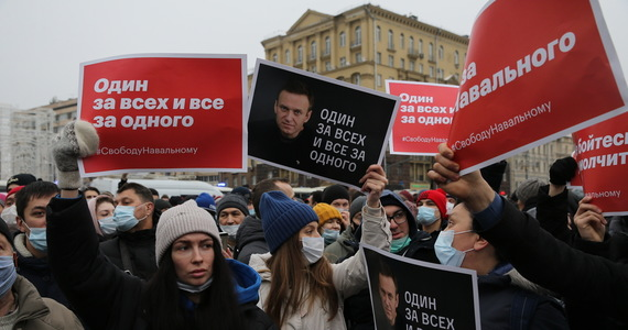 Russia: Repression of protesters to protect Alexei Navalny