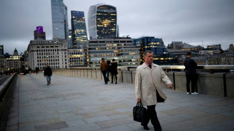 The deserted city of London will turn offices into housing