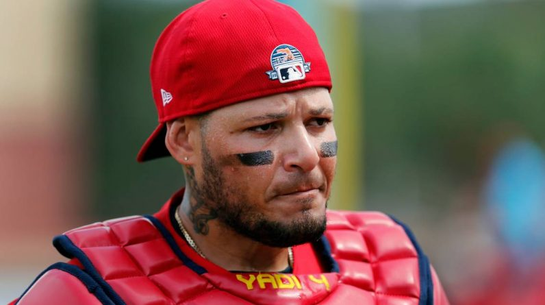 Brief MLP: Yadier Molina placed on injured list    Mike Duchman in San Francisco