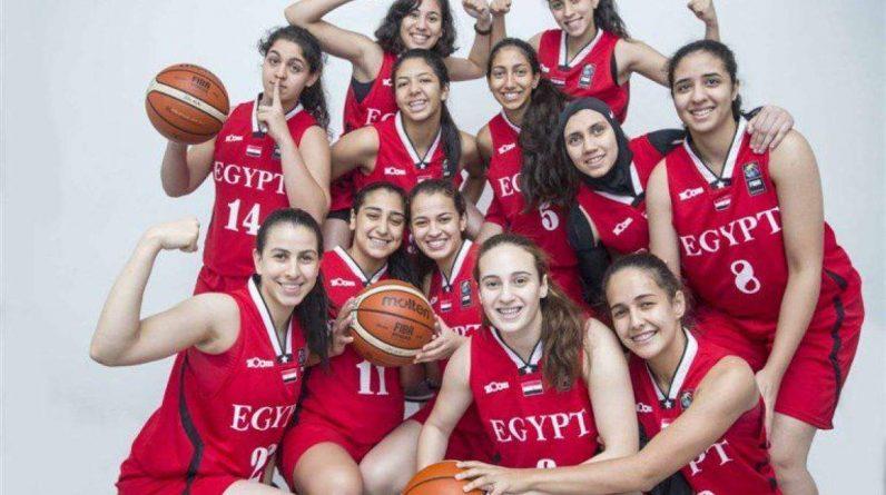 Egypte, équipe féminine de basket