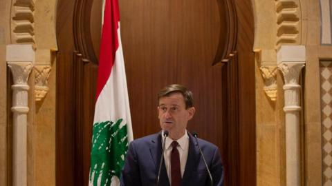 "A U.S. official is visiting Lebanon today amid ""concern over the deteriorating situation."""