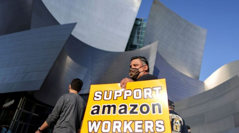 Amazon employees have no union - release