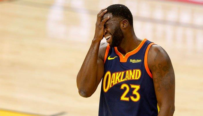 La grossière erreur de Draymond Green qui fait perdre les Warriors NBA