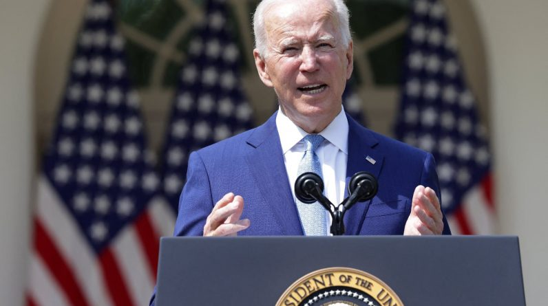 "Biden considers Navalny's fate ""completely unjustified."""