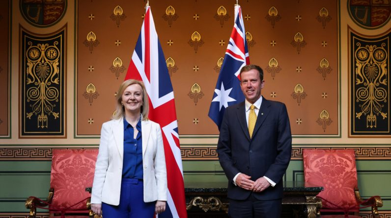 Britain is set to sign a $ 20 billion trade deal with Australia