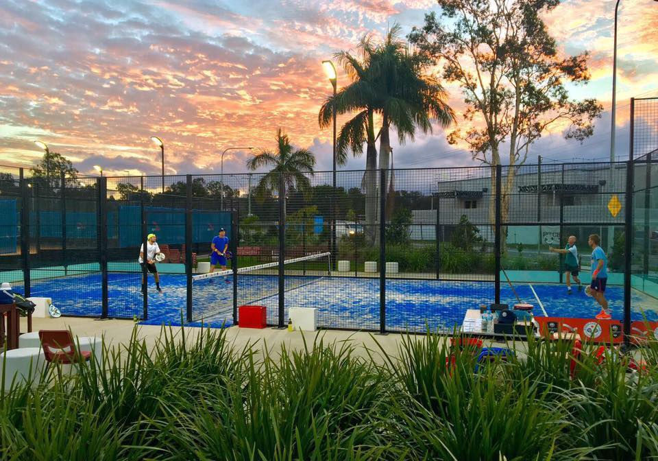 External paddle court in Australia
