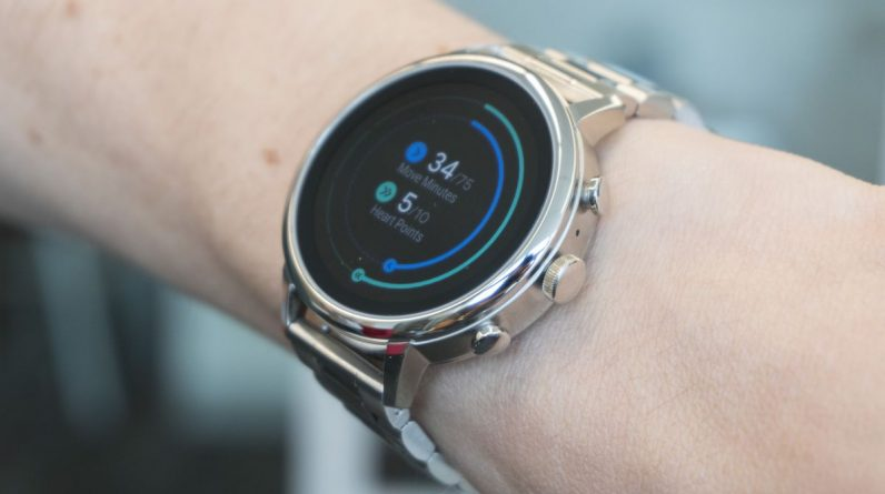 Google's root OS on the smartwatch supports Sun security features