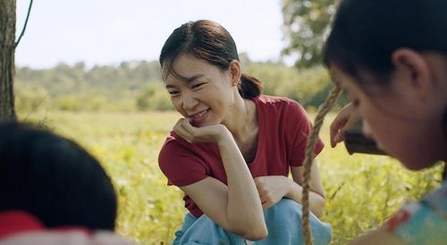 L'actrice sud-coréenne Han Yeri dans une scène du film «Minari». (Photo fournie par le Festival international du film de Busan. Archivage et revente interdits)