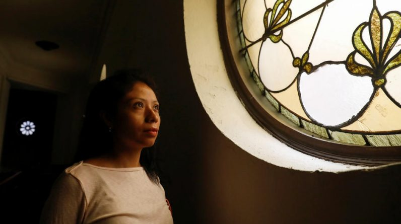 In the United States, undocumented refugees deported to churches