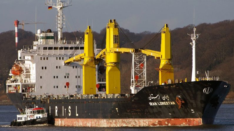 Israel informs Washington that an Iranian ship in the Red Sea has been attacked by its forces
