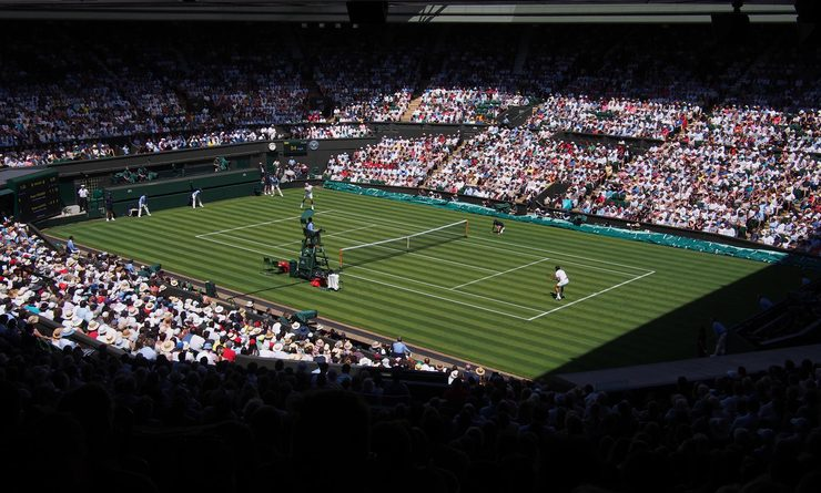Le tournoi de Wimbledon