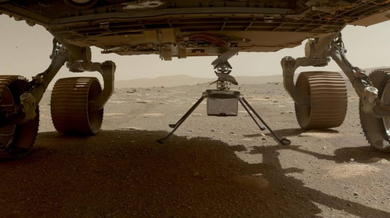 Mini helicopter ingenuity is on Mars |  Science