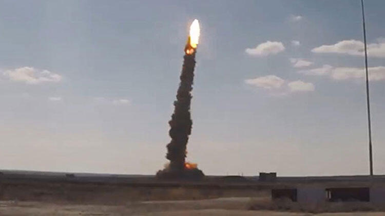 New missile test from Russia