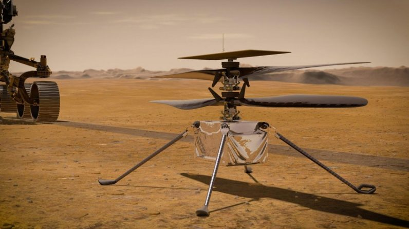 The Mars helicopter flew farther than Earth