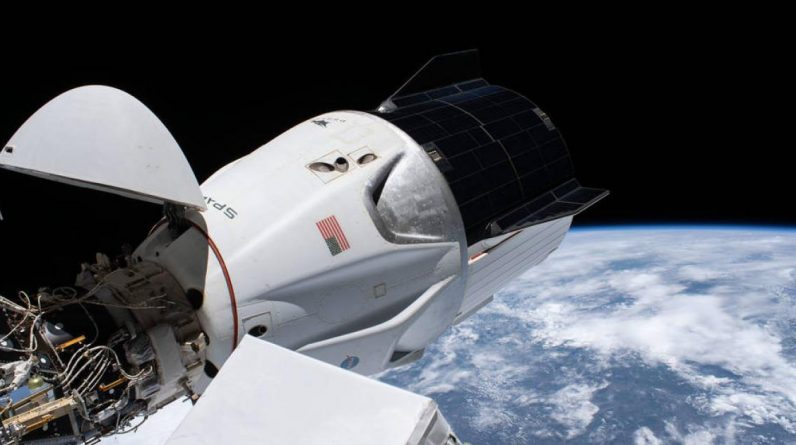 The SpaceX crew must have replicated the spacecraft on the ISS