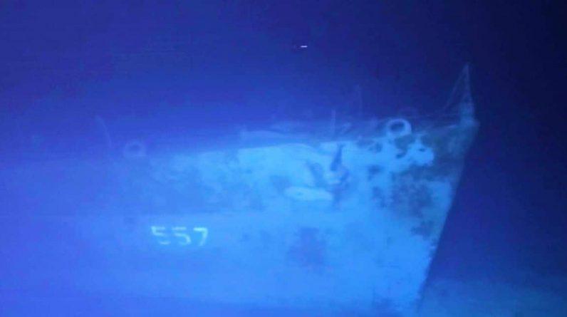 Un navire US de la Seconde Guerre mondiale retrouvé à 6.500 m de fond, au large des Philippines