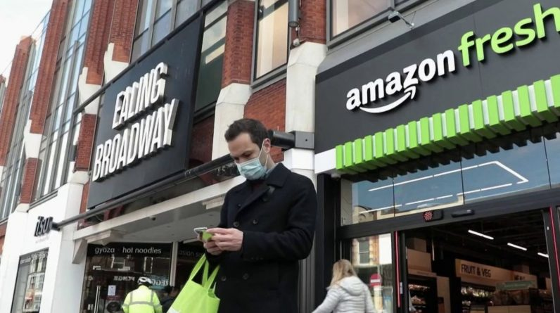 The cashless supermarket is currently being tested in London