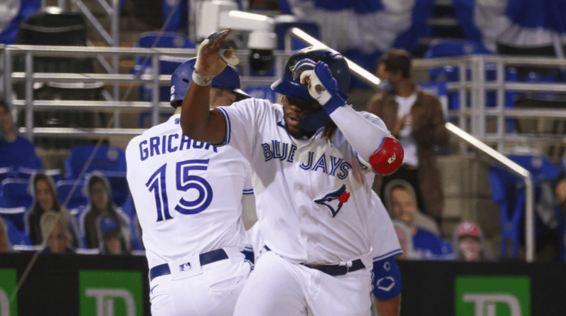 The first of three houses for Vladimir Guerrero Jr.