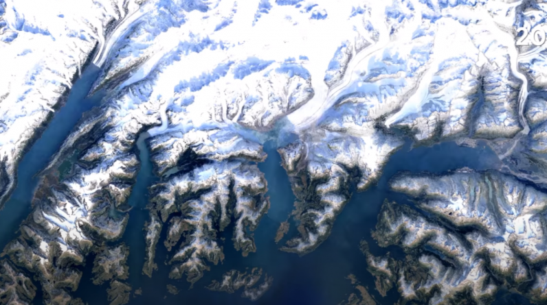 With Timelapse, Google Earth converts Earth into satellite images almost forty years back