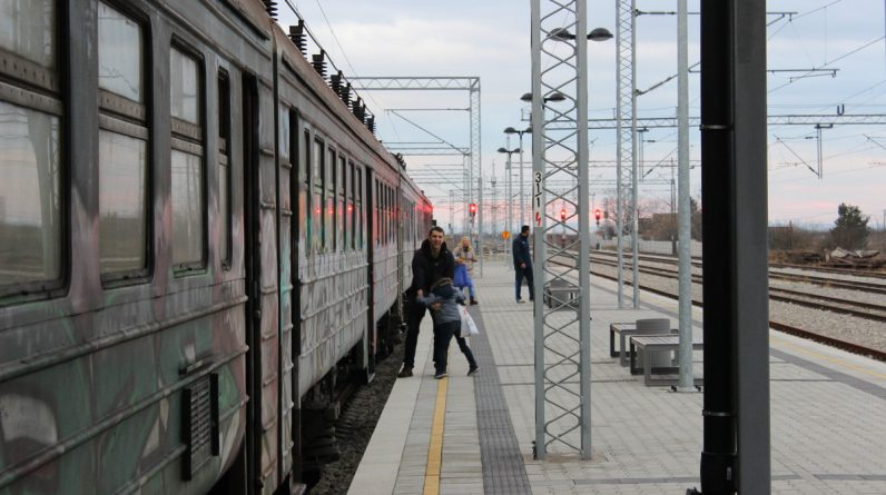 Where can you go by train from Belgrade, where can you board