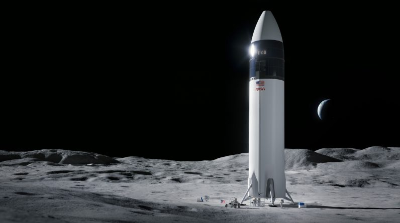 NASA suspends its controversial lunar lander project with SpaceX
