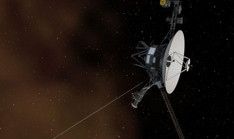 «Вояджер-1» в представлении художника. Источник изображения: NASA